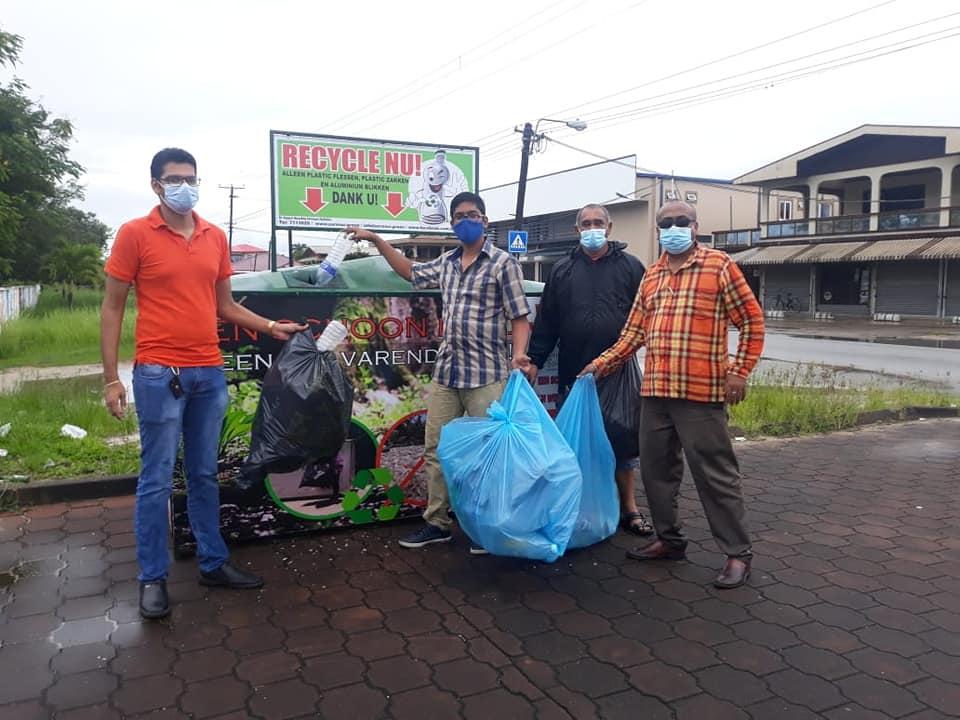 Recyclen in Munder