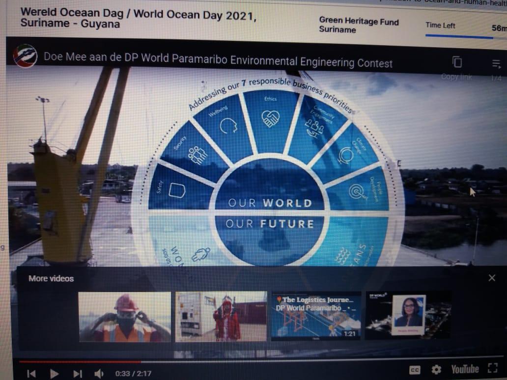 Wereld Oceanen dag 2021